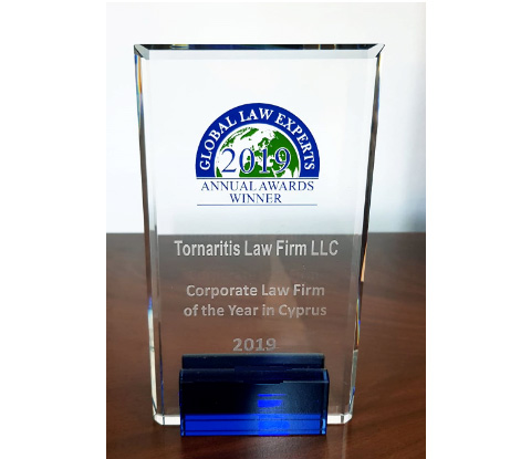Corporate Law Firm of the Year in Cyprus 2019